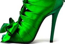 Shoes / The embodiment of beauty:  Shoes!  Delectable leathers and gorgeous glitters. / by Angie's Beauty Movement