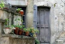 Doors or European Feel / Anything that feels European with an emphases on cool old doors / by Selina {CreativeJuicesDecor.com}