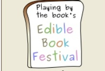 """Edible Books / Edible """"cakes"""" inspired by books - If you're inspired, come join the International Edible Book Festival  bit.ly/ediblebooks2013"""