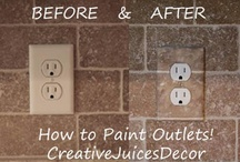 Easy and Fun ways to fix up a home / by Selina {CreativeJuicesDecor.com}