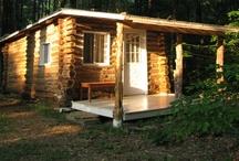 cabins / by Barbara Odenweller Miller
