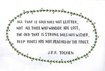 •| for the love of tolkien |• / by Eavan Bardsley