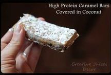Extra or High Protein Recipes / Recipes that uses whey protein or just lots of protein in them.  Mostly treats and snacks / by Selina {CreativeJuicesDecor.com}