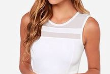 Best of White Fashion / Fashion statements in the colour white