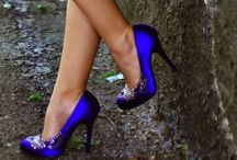 Best of Blue Fashion / Blue statements in the colour blue