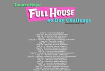 Full House 30 Day Challenge