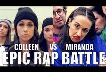 Colleen Ballinger/Miranda Sings / The Epic Miranda Sings/Colleen Ballinger...My Favorite YouTuber(s).