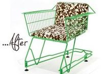 [Sit] Upcycled / Surprise your tush with these fun upcycled chairs, and other seating options.