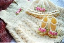Crochet: Baby & Children's Clothing / by Kerry Gill