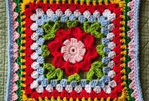 Crochet: Appliques,Motifs & Squares / by Kerry Gill