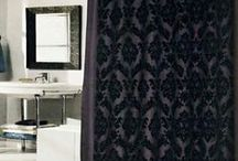 Shower Curtains / All kinds of shower curtains for a bathroom makeover.  Popular styles.