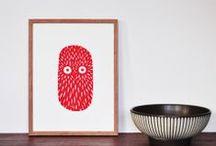 Linocut prints / my limited linocut print - All handmade Visit www.northy.com and shop online