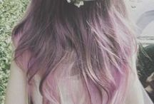 Hair styles, colors & accessories! / I love these