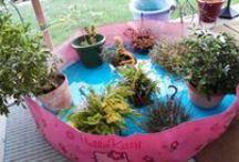 Gardening and Yard Art / by Barbara Hill