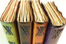 Handmade Books / Making books and journals.