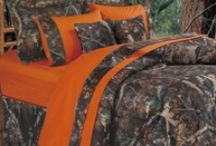 Camo and Hunting / InteriorMall.com has lots of camo and camoflauge items including fabric, wallpaper, bedding and much more.  Here's some of our favorites.
