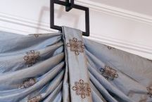Windows Treatments / At InteriorMall.com we sell everything you need to create fabulous window treatments.  From curtain rods to cornice boards to custom made drapery panels and window toppers, we can do it all.  Call us at 1-800-590-5844 / by InteriorMall.com