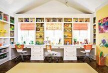 craft spaces / organizers