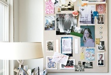 pinboard walls / homemade pinboard walls