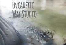 Encaustic Painting Style / by Serious Fun Art Studio