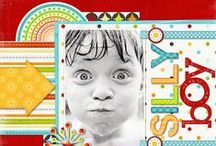 Scrapbook pages & 3-D projects