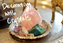 Spiritual Room Decor / Pictures, crystals, and various decor for a more spiritually enhanced surroundings