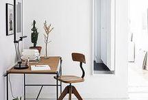 Arbeitszimmer | workspaces / Einrichtungsideen für den Arbeitsplatz, das Büro, das Nähzimmer | Hier würde ich gerne arbeiten! I would like to work here | great ideas for working spaces