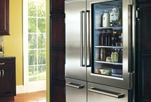 Interior Décor—Kitchen Design / kitchens - cabinets, appliances, specialty drawers, pantries, etc.  / by SK
