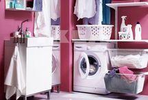 Laundry-Family Entry ideas / by Katy White
