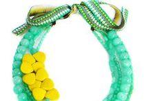Dear Margot Jewelry / #statement jewelry #dear margot #colorful jewelry #necklaces #earrings
