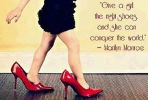 Shoes, Shoes, Shoes ♥ / Can we ever have too many? / by Midge Hatfield