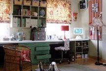 Ideas for craft room / by Julie Meisegeier