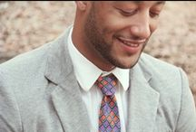 Della Men's Collection / The Della Men's Collection is handmade with fine Ghanaian cotton. This tie adds style to any man's wardrobe. The sale of every tie and pocket square has a positive effect on the people of Hohoe. / by Della