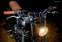 Cafe Racers / Cafe Racers with beautiful and rugged design concepts / by Aaron Jarvi