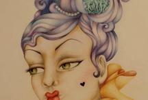 My Art ... Illustrations by Johanna Hawke