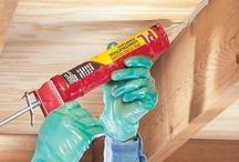 Home Improvement      / Carpentry, painting, plumbing, general housekeeping solutions, handyman tips, winter preparedness  / by SK
