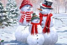 Christmas - Frosty, the Snowman / by Ruth McKean