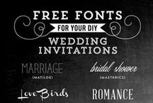FONTS FOR FREE / by Cecilie Borup