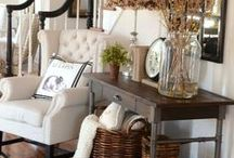 Hallway Decor / For the love of a great hallway. Decorating and styling ideas to make the most of your hallway, stairs and landing. From hallway flooring, to console styling and hallway accessories.