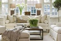 Living Room Decor / For the love of lounge and living rooms. Styling and decorating ideas for the lounge.