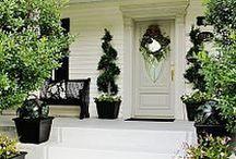 Kerb Appeal / For the love of great first impressions. Tips, tricks and ideas for creating a warm welcome to your home. Driveways, front gardens and porch ideas. Make a good first impression for your home.