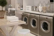 Utility Room Decor / For the love of utility and mud rooms. Great ideas for creating an organised and functional space to do the laundry, or store items for the home.