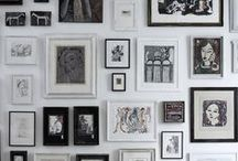 The Gallery / For the love of artwork. There's no easier way to inject personality into your home than with artwork on the walls. Framed photos, gallery walls, canvas ideas, pictures and all manner of wall decor for the home, as well as tips and tricks for hanging it.