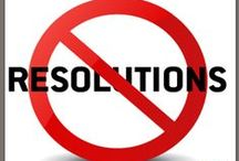 """No Resolutions / RESEARCH SHOWS THAT 88% OF ALL RESOLUTIONS WILL FAIL! That's why Gold's Gym is launching a national campaign against New Year's Resolutions − to stop the epidemic of """"Resolution-Dependency."""" Teaming with the world's top fitness experts, we've created a 7-Step Action Plan to help you break your Resolution-Dependency!"""