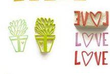 Stempel | stamps / Stempel selber herstellen | Kreative Ideen rund ums Stempeln | DIY and crafty ideas with stamps