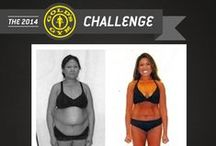 The 2014 Gold's Gym Challenge / The Gold's Gym Challenge is a 12-week body transformation contest exclusively available to Gold's Gym members - But it is more than just a contest... it will help you totally transform yourself inside and out.