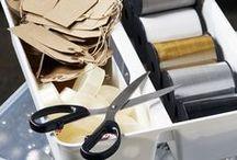 Ordnung schaffen | organize home / Ideen die eigenen vier Wände, den Arbeitsplatz, die Küche, Schränke und Vorratskammern zu organisieren.  Ideas for organising life, home & me.