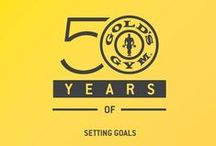 Gold's Gym Celebrates 50 Years / In 2015, Gold's Gym will be celebrating its 50th anniversary!  Since 1965, Gold's Gym has become the worldwide leader in fitness with more than 725 gyms in 38 states and 25 countries. And we owe it all to our incredible members and fans! We look forward to celebrating this milestone with you throughout 2015.