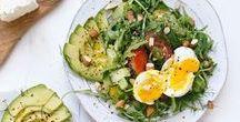 Salat Rezepte | salad recipes / Knackig & frisch, mal herzhaft, mal süß - Salatrezepte für jeden Anlass.