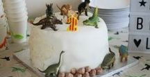 Dinosaur themed birthday / Lucas' dinosaur themed second birthday